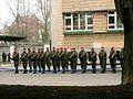 Pomnik Ofiar Komunizmu, salwa honorowa.JPG