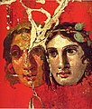 Pompeii - Casa del Bracciale d'Oro - Theatre Masks.jpg
