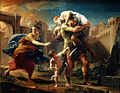 Pompeo Batoni - Aeneas fleeing from Troy, 1753.jpg