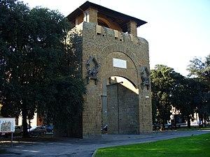 Piazza della Libertà, Florence - Porta San Gallo