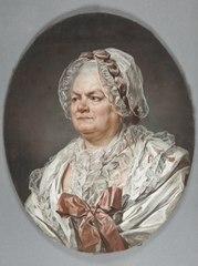 Porträtt av konstnärens mor, Mme Anne Ducreux f. Béliard