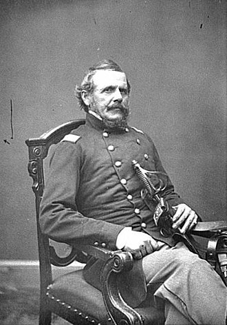 George W. Taylor (general) - Image: Portrait of Col. George W. Taylor, officer of the Federal Army (Brig. Gen. from May 9, 1862 LOC cwpb.05748 (cropped)