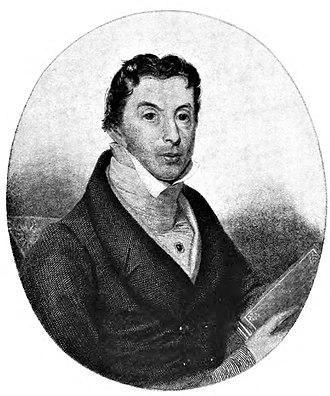 John Sell Cotman - Portrait of Dawson Turner