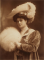 Portrait of Harriet Burton Laidlaw wearing a hat and muff.png