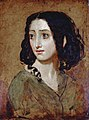 Portrait of Mlle Rachel by William Etty YORAG 988FXD.jpg