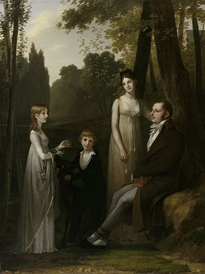 Rutger Jan Schimmelpenninck - Schimmelpenninck with his wife and children in 1801-1802.