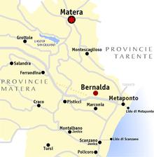 Metaponto Cartina Geografica.Metaponto Wikipedia