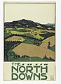 Poster, The North Downs, London Underground, 1915 (CH 18447297).jpg