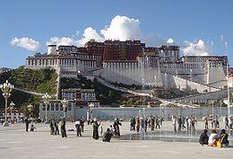 The Potala Palace, Lhasa's most famous landmark