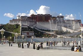 The Potala Palace, Lhasa's most famous landmark
