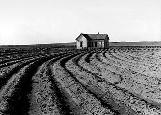High Plains (United States) - Childress County, Texas, June 1938.