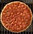 Préparation d'une tarte à la tomate (06) - sortie du four.jpg