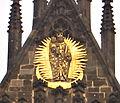 Praha-Staré Město, kostel Matky Boží před Týnem, detail výzdoby.JPG
