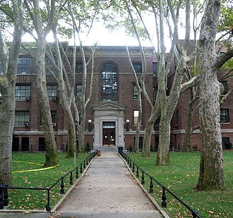 John Mead Howells - The Engineering Building, as part of Pratt Institute's Engineering Quadrangle