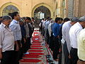 Prayers of Noon - Grand Mosque of Nishapur -September 27 2013 27.JPG