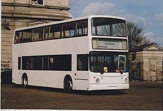 Alexander ALX400 - Image: Pre delivery Stagecoach Dennis Trident Alexander ALX400, Dublin, February 1999