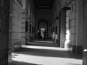 Presidency University, Kolkata - The Main Building corridor