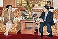 President Arroyo with Thai Prime Minister Thaksin Shinawatra.jpg
