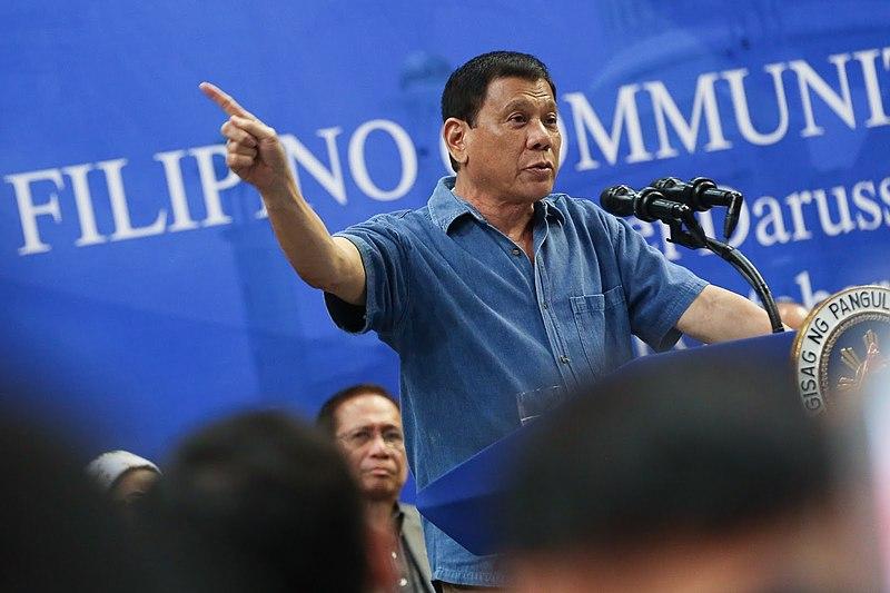 File:President Rodrigo Duterte addressing Filipino community in Brunei.jpg