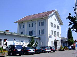 Chiemgau Railway - Prien station