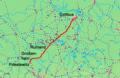 Priestewitz - Cottbus Karte.png