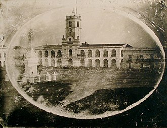 Alexander Witcomb - The first photo of the Cabildo ever taken, c. 1842–50.
