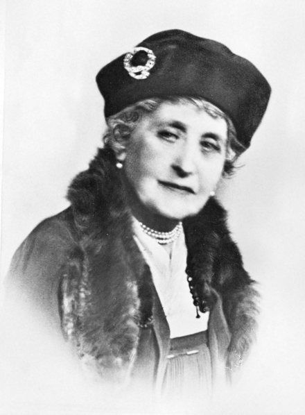 Princess Louise in later life Princess Louise in old age.png