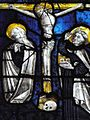 Prioriale du Bourget du Lac (vitrail - Crucifixion).jpg
