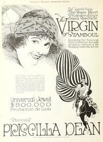Priscilla Dean in The Virgin of Stamboul by Tod Browning Photoplay 1918.png