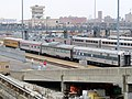 Private cars at 14th Street Coach Yard, December 2018.JPG