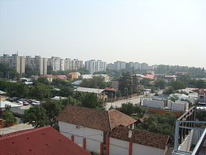 Progresul - The district in 2010