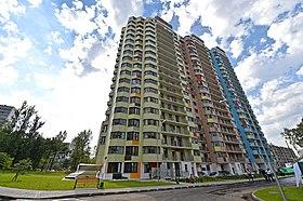 Новый жилой дом на проспекте Вернадского для жителей сносимых пятиэтажек. b9c7e02c992