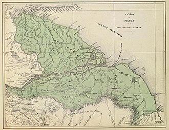 Guayana Province - Image: Provincia de Guayana Cantón Piacoa