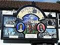 Pub sign on the Sedgemoor Inn - geograph.org.uk - 958892.jpg