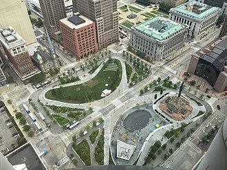 Public Square, Cleveland - Image: Public Square (Cleveland)
