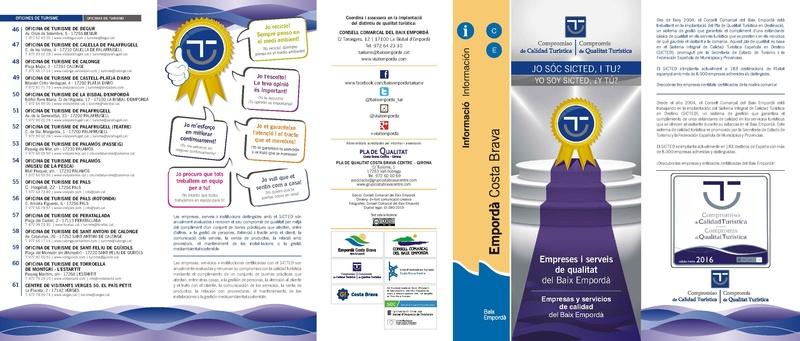 File:Publicacions del Consell Comarcal del Baix Empordà num 658 - Jo sóc SICTED, i tu- Empreses i serveis de qualitat del Baix Empordà.pdf