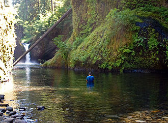 Punch Bowl Falls - Punch Bowl Falls is a popular photography subject