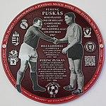 Puskas-Liddell plaque, Liverpool South Parkway.jpg