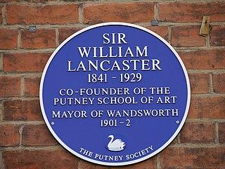 William Lancaster (politician) English politician