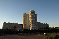 Pyongyang apartments