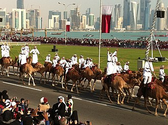 Qatar National Day - A parade taking place in Doha (2013)