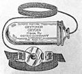Quackery; 20th. century; 'Improved oxytonor oxygen' Wellcome L0003599.jpg