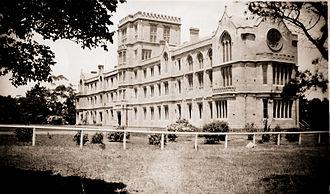 Queen's College (University of Melbourne) - Queen's College North Wing c.1926