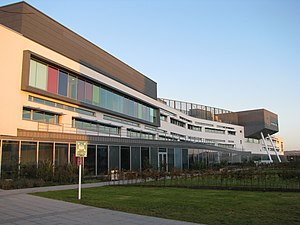 Education in Scotland - The Main Building of Queen Margaret University