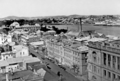 Queensland State Archives 14 Brisbane central business district looking east from the corner of George and Elizabeth Streets September 1925.png