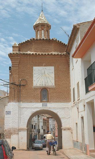 Quinto, Aragon - Historic gate in Quinto