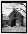 REAR ELEVATION - Springside, Carriage House, Academy Street, Poughkeepsie, Dutchess County, NY HABS NY,14-POKEP,6B-2.tif