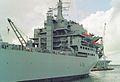 RFA Argus (A135) Aviation training - Casualty receiving ship 28,081 tonnes, Royal Navy. (11578412736).jpg