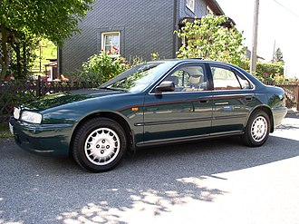 """Rover 600 Series - 1994 Rover 620i fitted with 15"""" GSi alloy wheels"""
