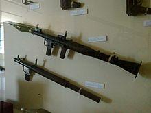RPG-2 and RPG-7